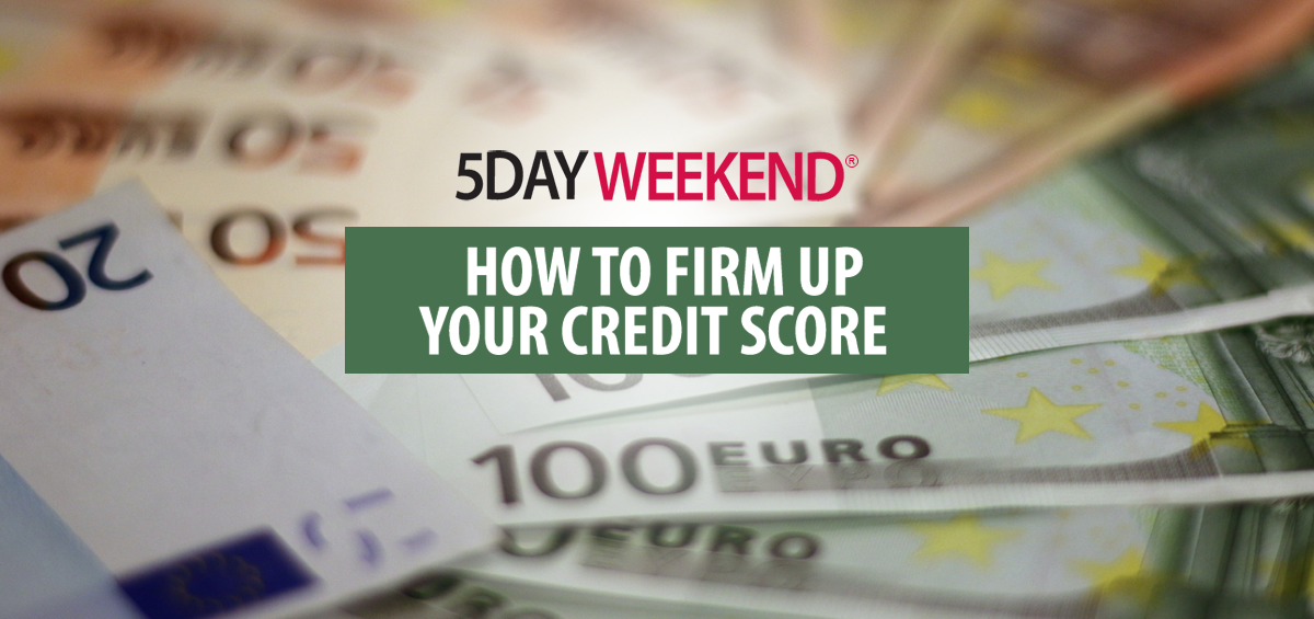 how to bring your credit score up